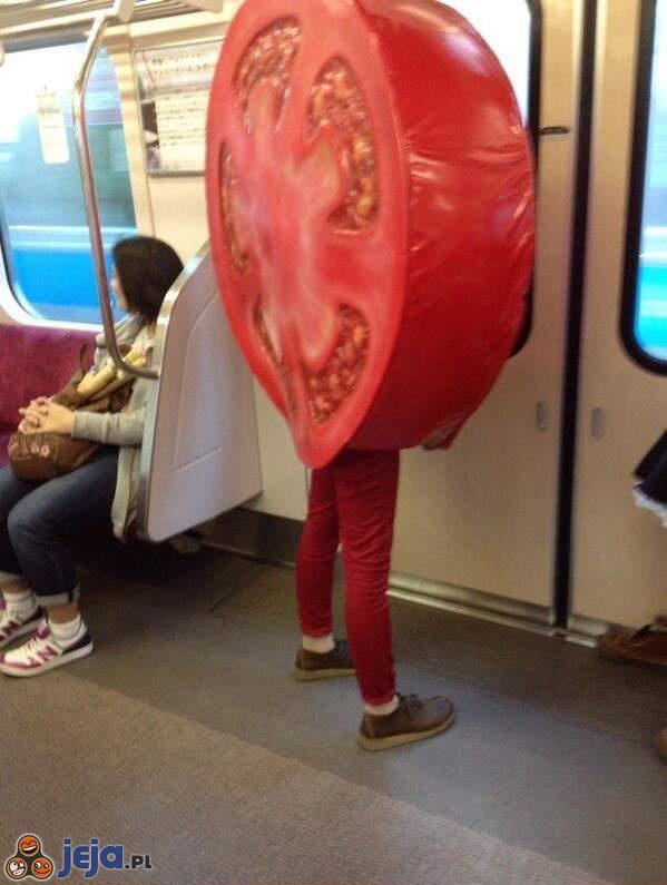 Człowiek pomidor