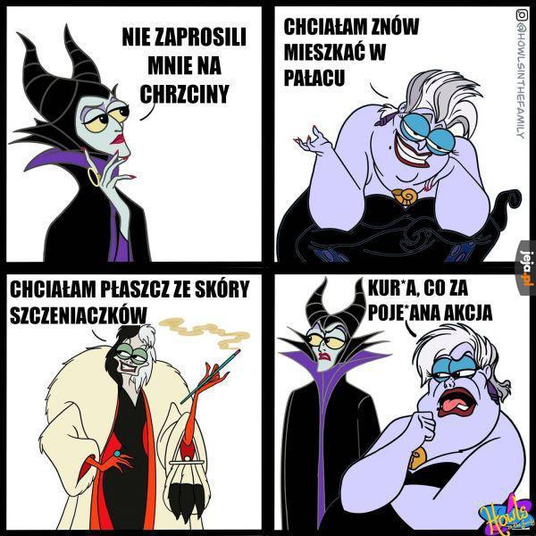 Cruella jest powalona nawet jak na złoczyńcę