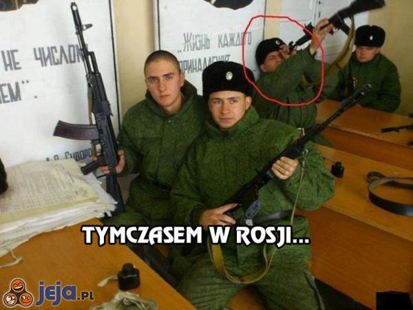 Tymczasem w Rosji...