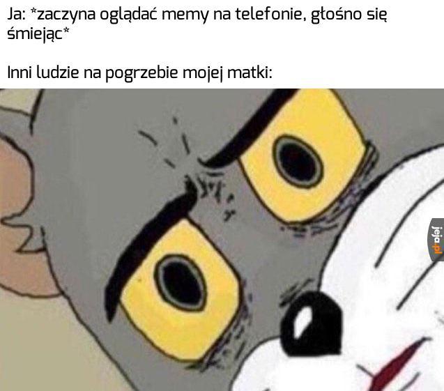 Za to ten mem nigdy nie umrze