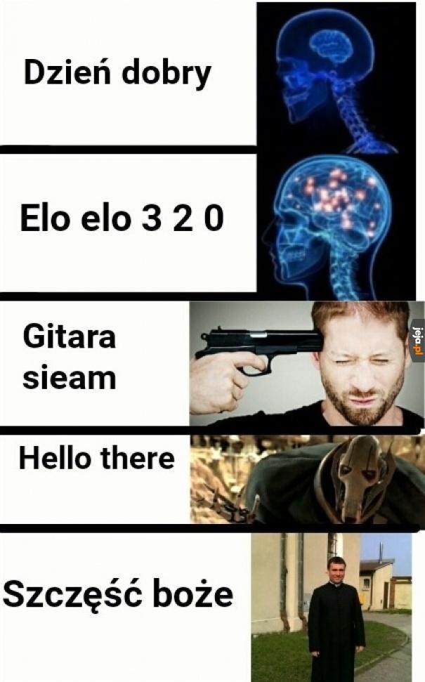 Tak właśnie witają się Polacy