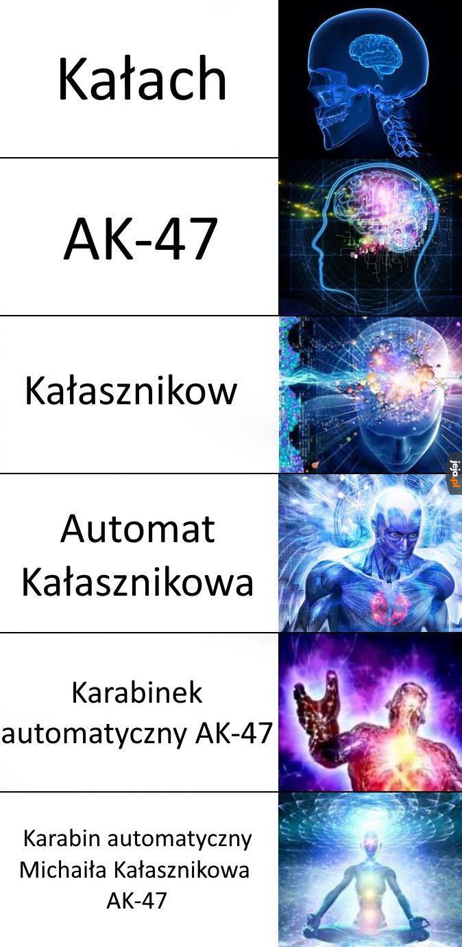 Tyle nazw, jedna broń