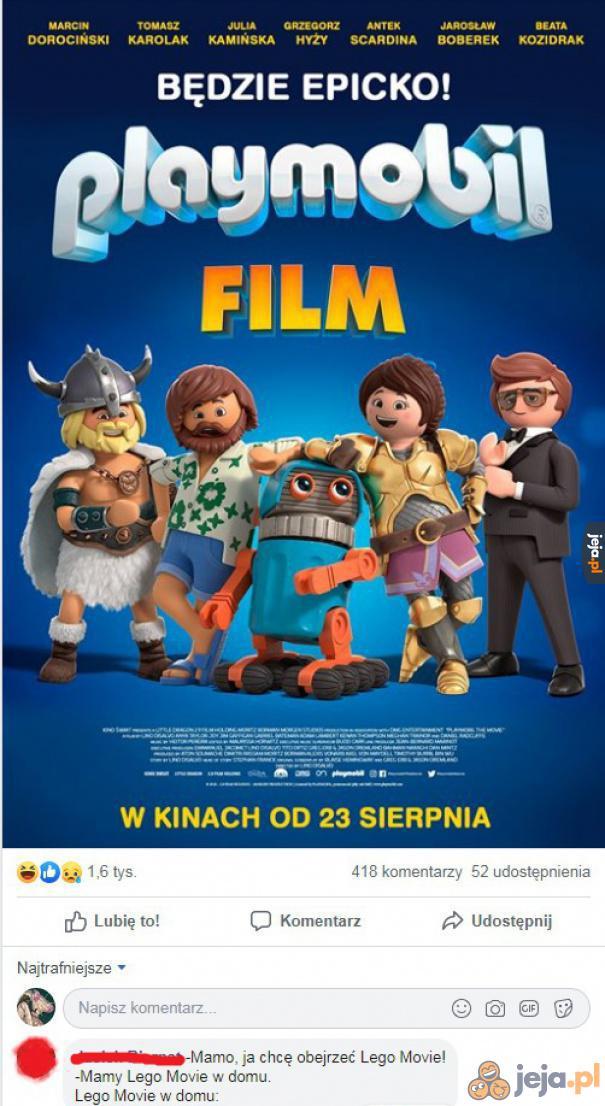 A czy w Lego Movie występuje Tomasz Karolak?!