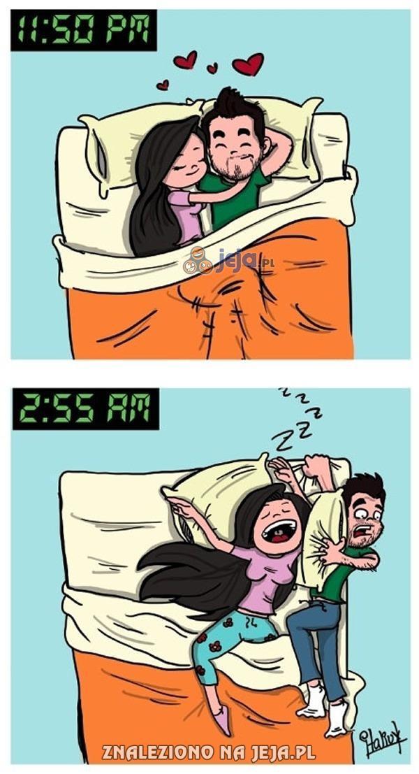 Jeden z powodów dlaczego śpię na kanapie