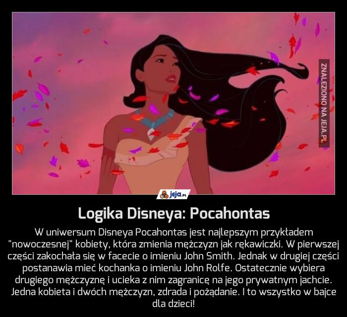 Logika Disneya: Pocahontas