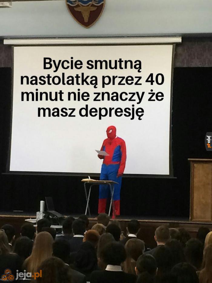 Mamo, mam depresję!