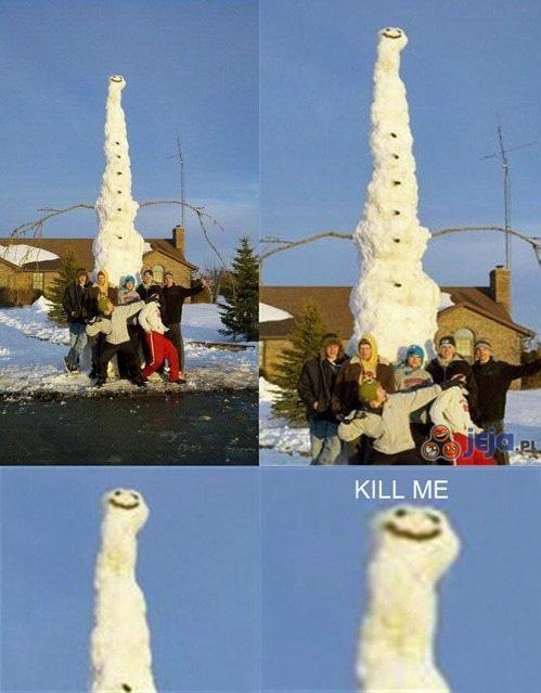 Long snowman