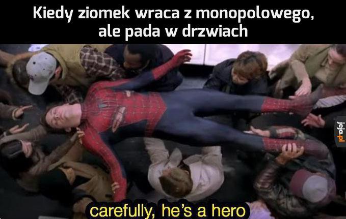 Bohater, jakich mało!