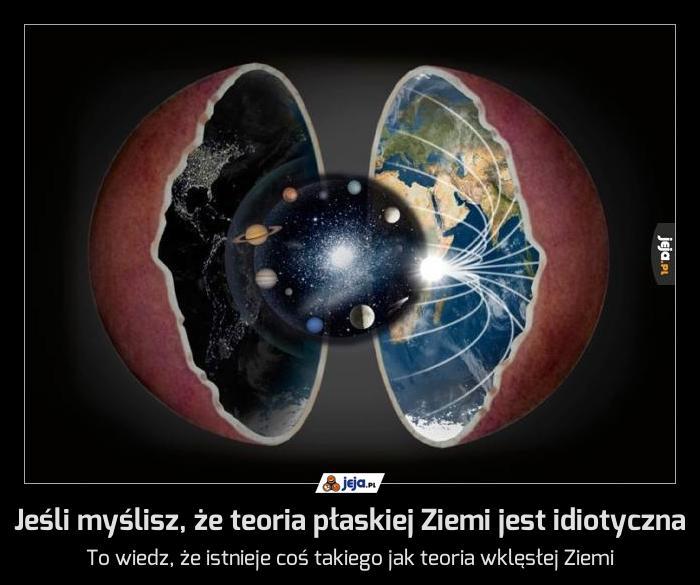 Jeśli myślisz, że teoria płaskiej Ziemi jest idiotyczna