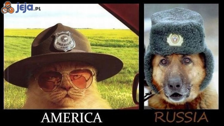 USA vs Rosja - Szeryf