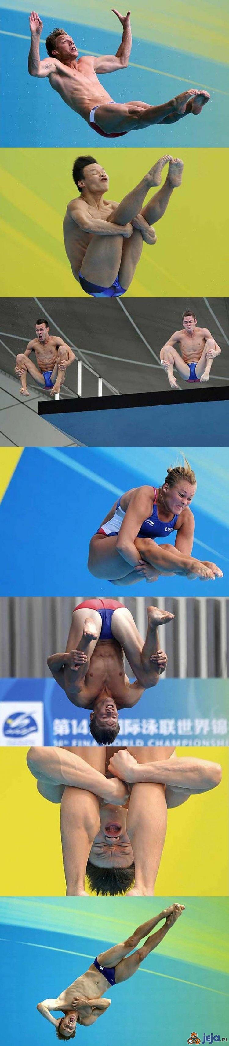 Miny sportowców