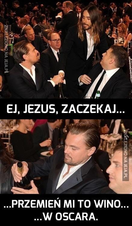Ach, zdesperowany Leo...