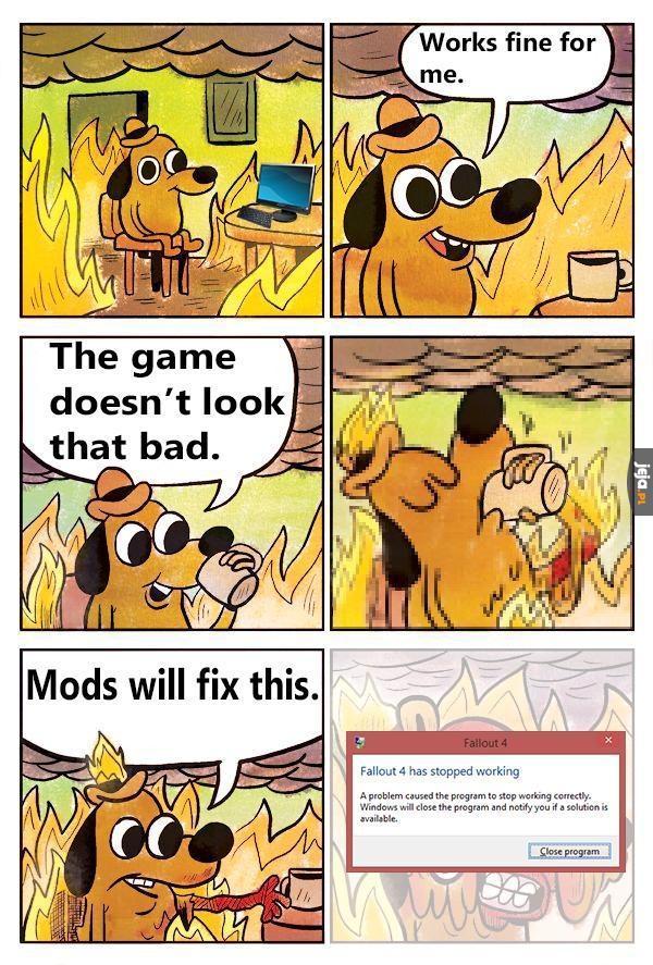 Mody to poprawią!