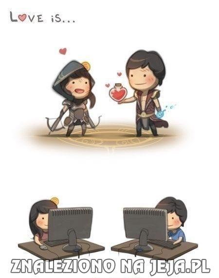 Prawdziwa miłość graczy