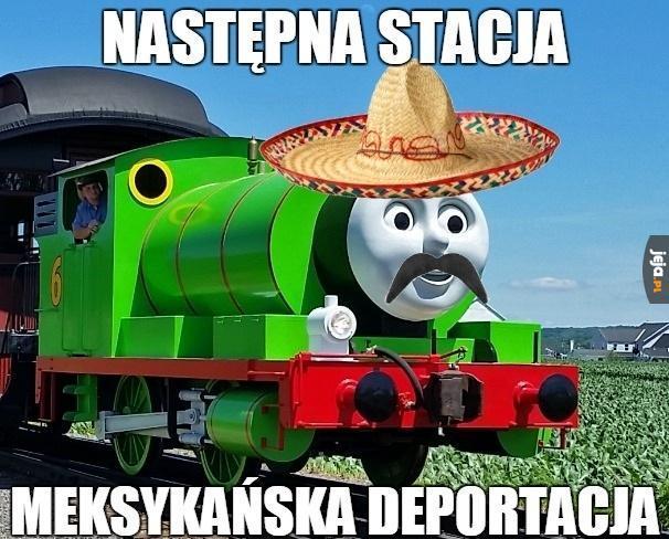 Ktoś zamawiał pociąg?