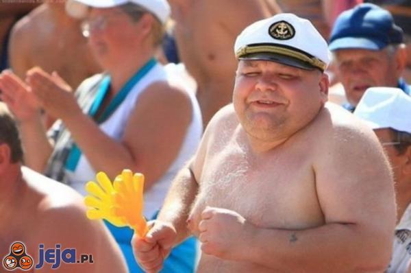 Wesoły marynarz