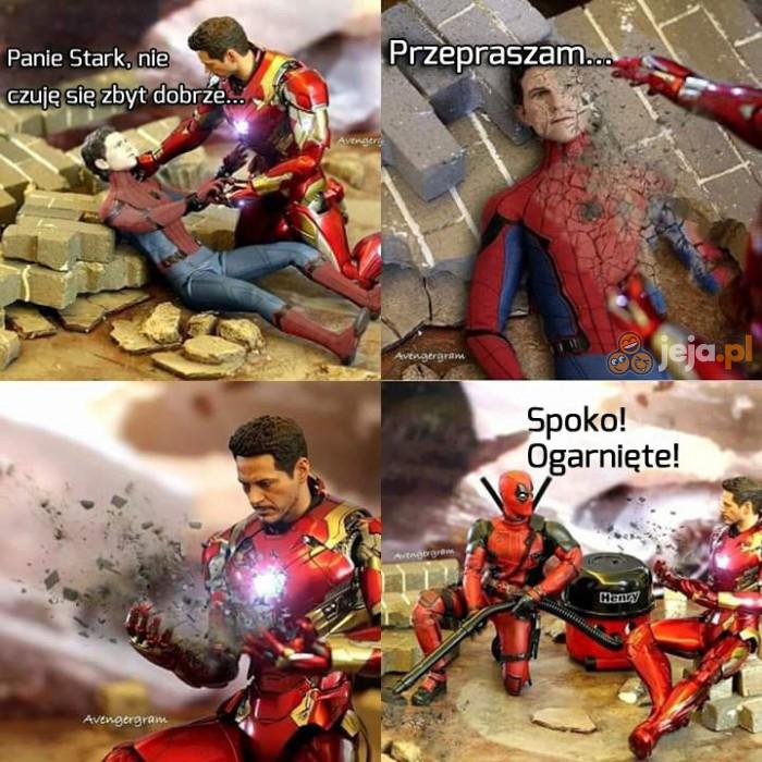 Deadpool zawsze pomoże