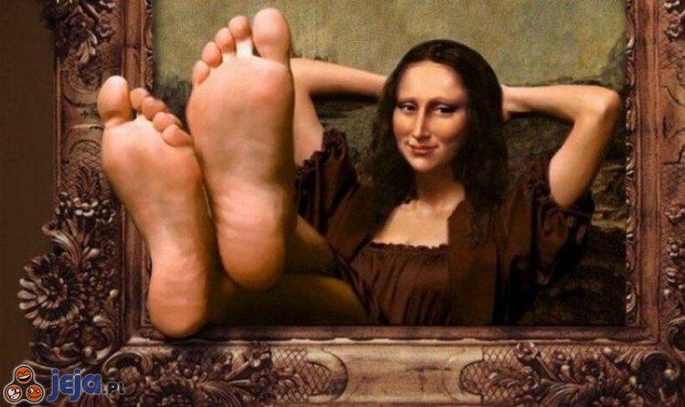 Mona Lisa na wakacjach