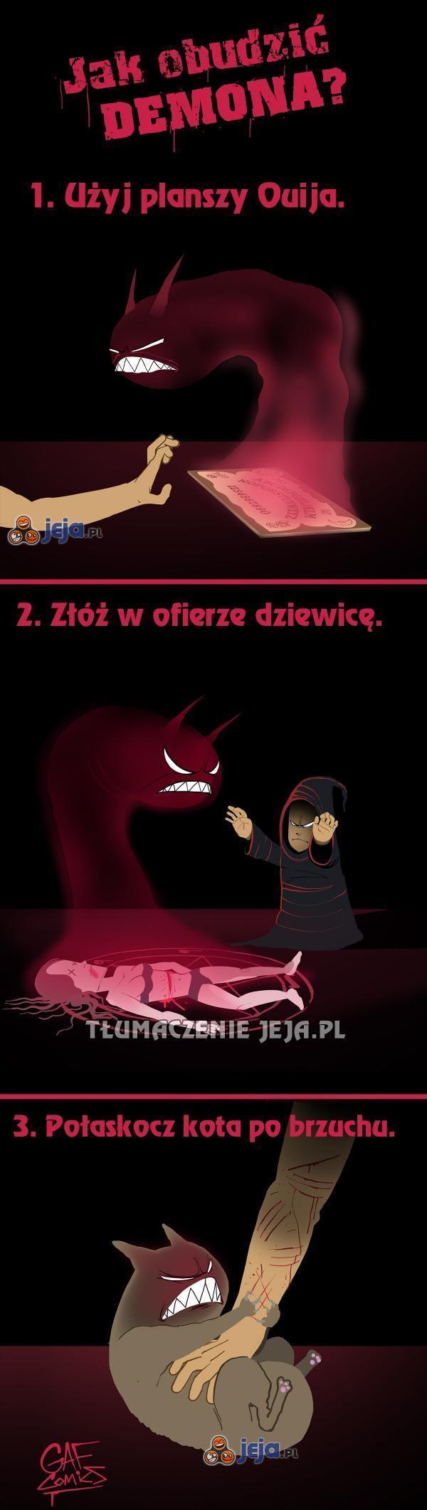 Jak obudzić demona?