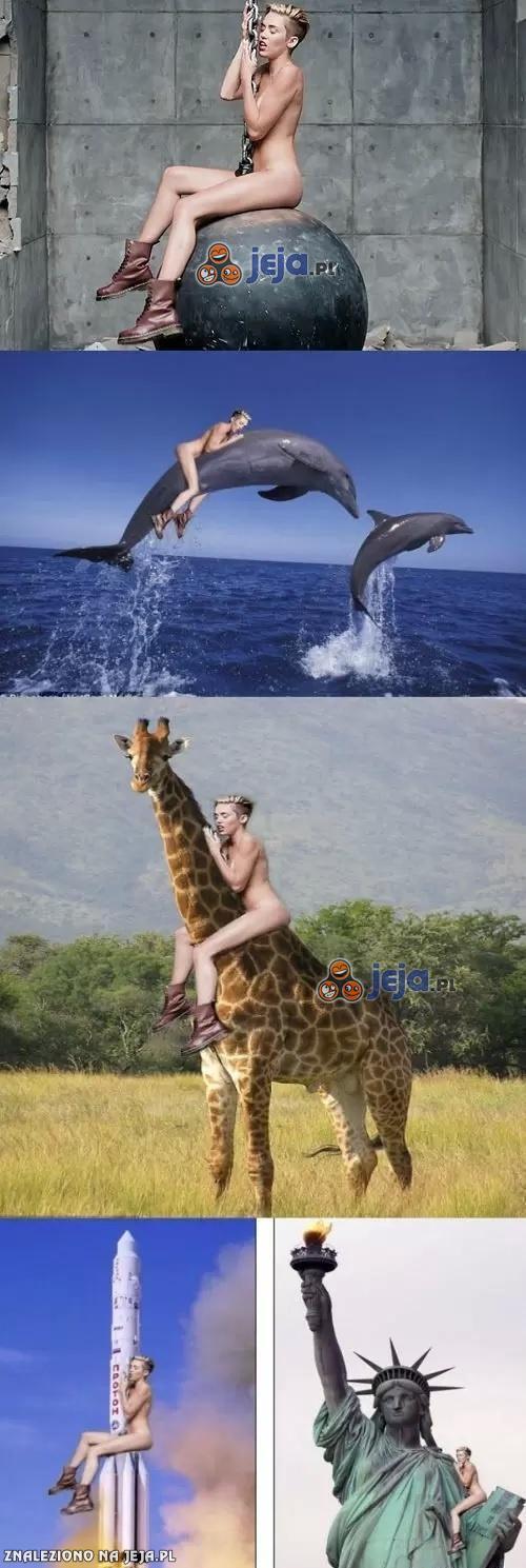 Miley i Photoshop