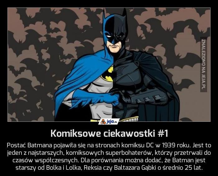 Komiksowe ciekawostki #1