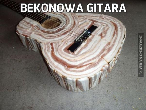 Bekonowa gitara