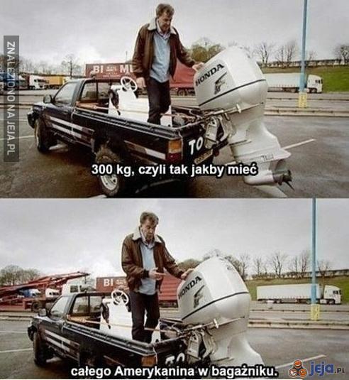 Amerykanin w bagażniku