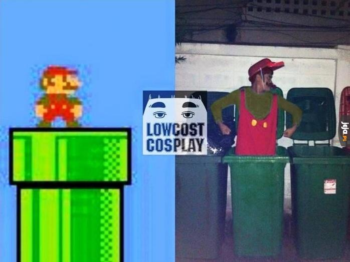 Cosplay Super Mario