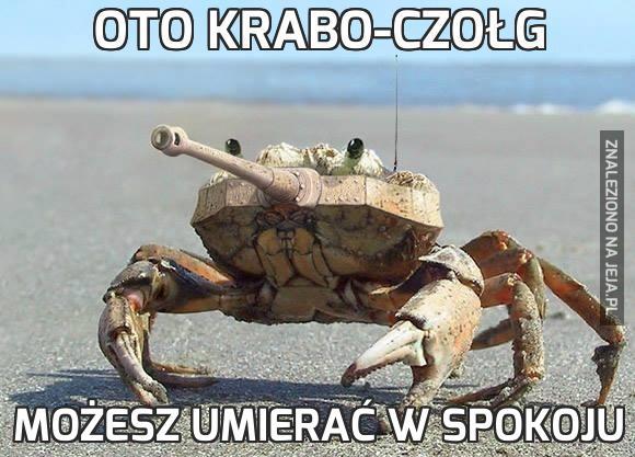 Oto krabo-czołg