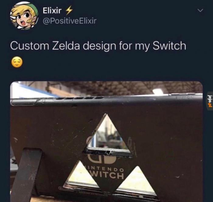 Elegancka przeróbka Switcha