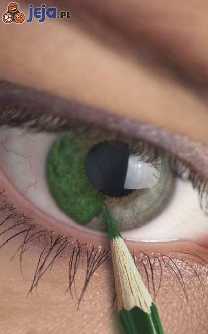 Zielone oko