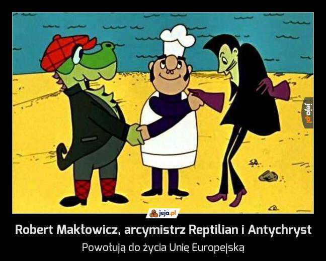 Robert Makłowicz, arcymistrz Reptilian i Antychryst