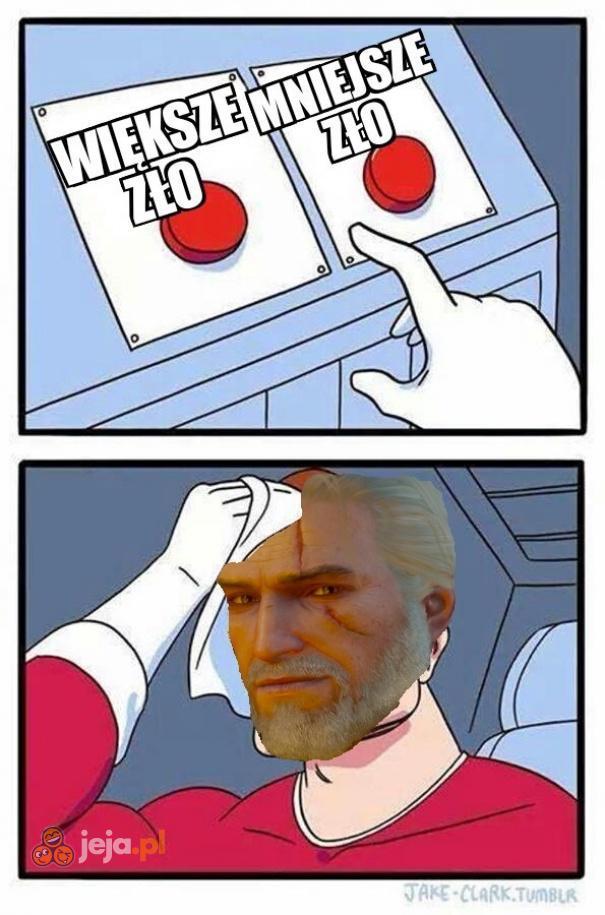 Problemy Geralta