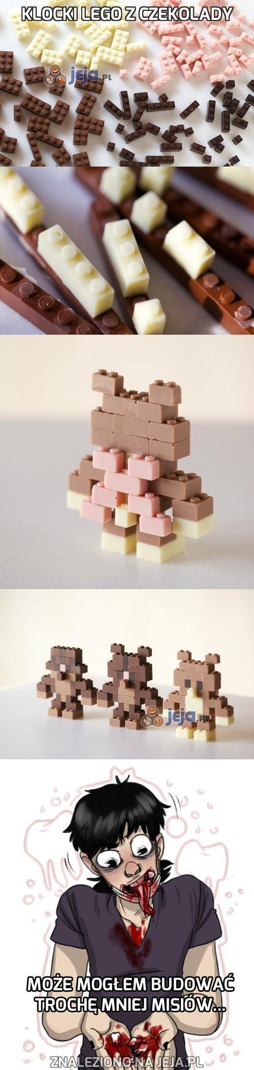 Klocki Lego z czekolady