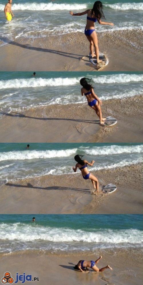 Trzeba było ćwiczyć na wodzie