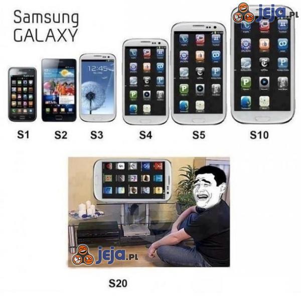 Ewolucja Samsunga Galaxy