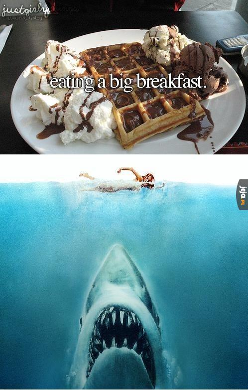 Duże śniadanie