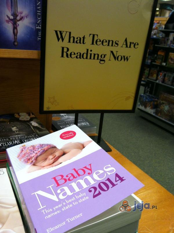 Co czyta dzisiejsza młodzież