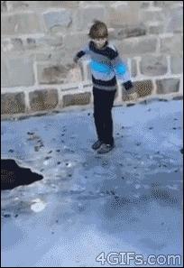 Nie skacz na lodzie