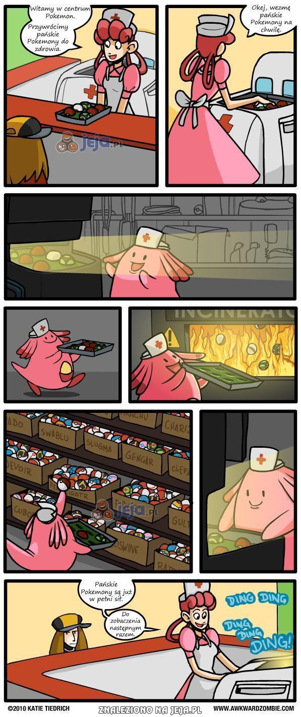 Prawda o centrach Pokemon