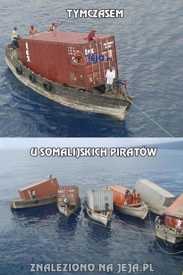 Tymczasem u somalijskich piratów