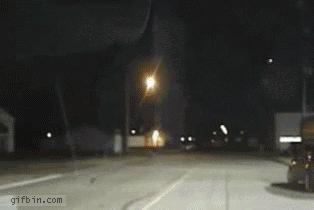 Meteoryt - niezłe ujęcie