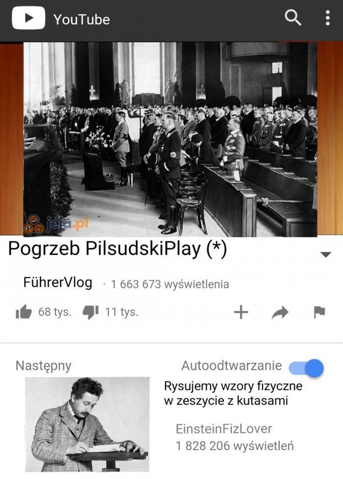 Dobry youtuber z niego był