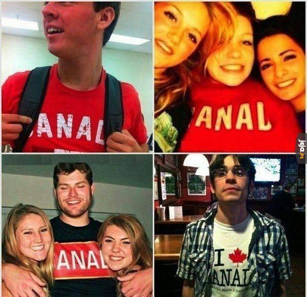 Koszulka Kanady...