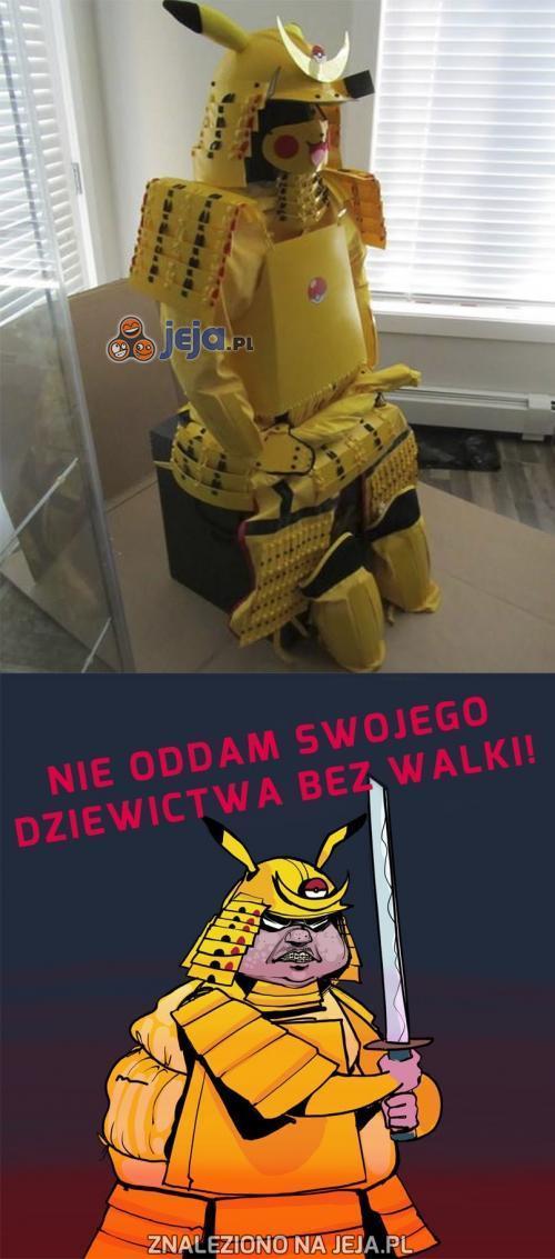 Wojownik Pikachu