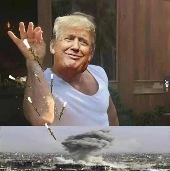 Trump wie, co dobre