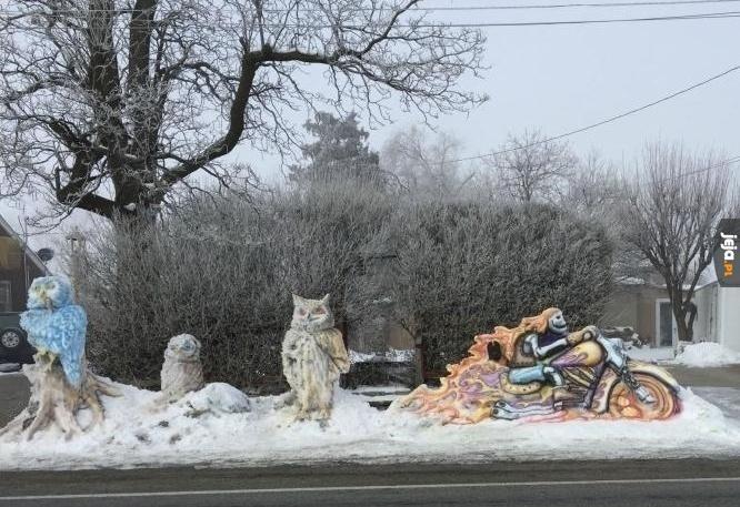 Dzieła ze śniegu