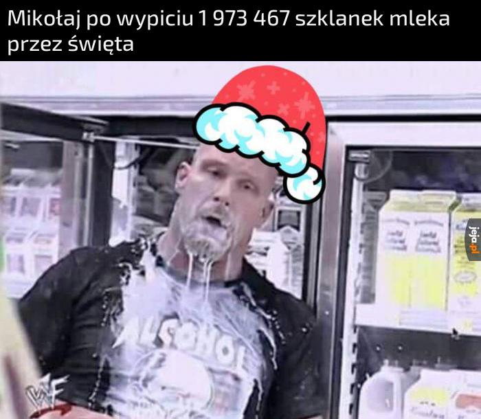 Pij mleko, będziesz jak Mikołaj