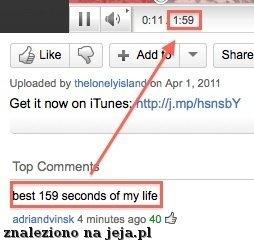Najlepsze 159 sekund w życiu