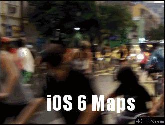 Nieodpowiedzialny kierowca + nowe mapy od Apple